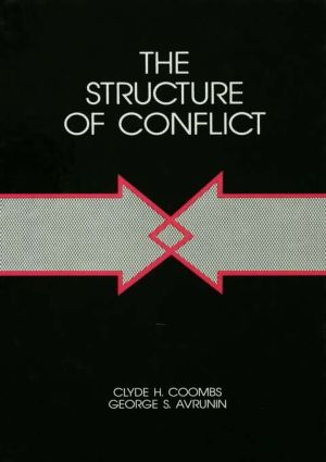 The Structure of Conflict: 1st Edition (Paperback) book cover