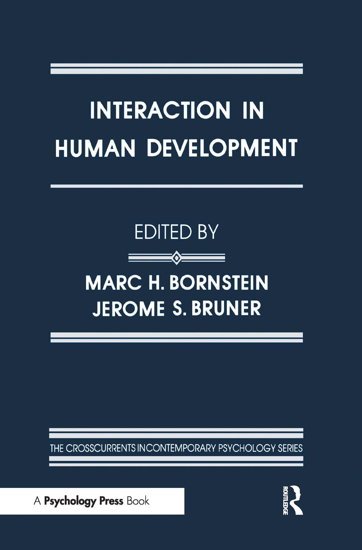 Interaction in Human Development (e-Book) book cover