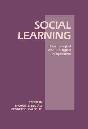 Social Learning: Psychological and Biological Perspectives book cover
