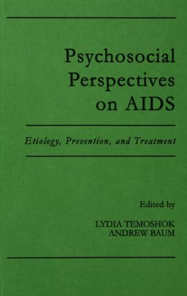Psychosocial Perspectives on Aids: Etiology, Prevention and Treatment (Hardback) book cover