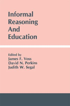 Informal Reasoning and Education (Paperback) book cover