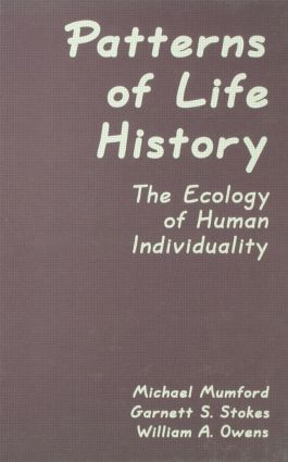 Patterns of Life History: The Ecology of Human Individuality (Hardback) book cover