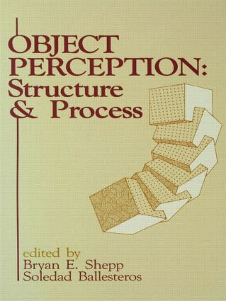 Object Perception: Structure and Process (Paperback) book cover