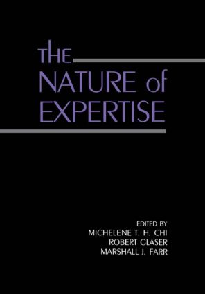 The Nature of Expertise (Paperback) book cover