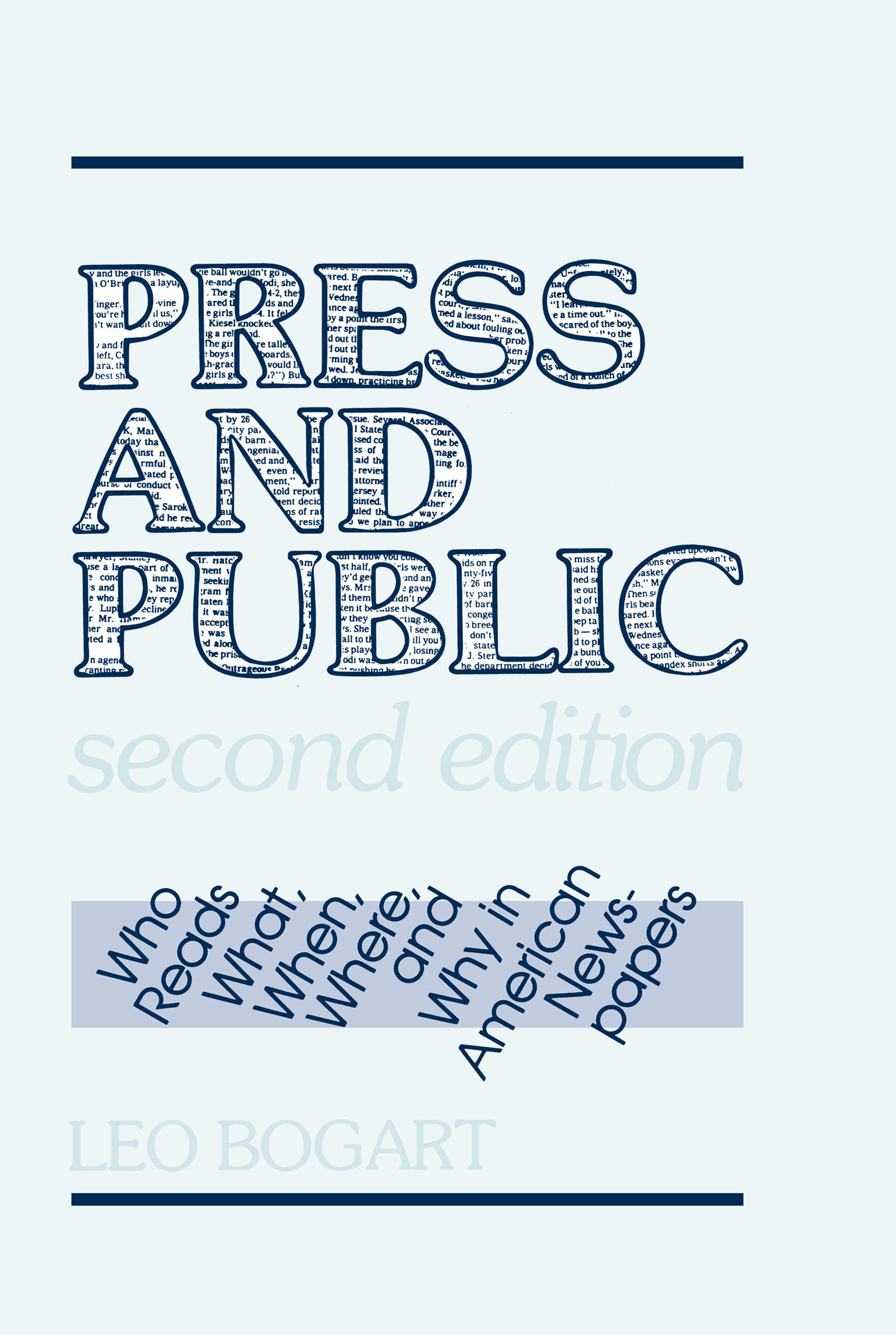 Press and Public