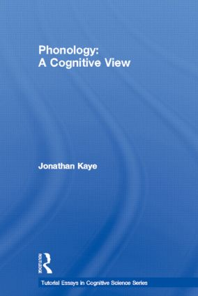 tutorial essays in cognitive science series routledge phonology
