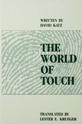 The World of Touch: 1st Edition (Hardback) book cover