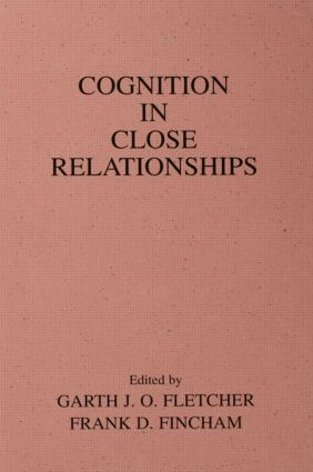 Cognition in Close Relationships (Hardback) book cover