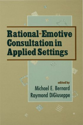 Rational-emotive Consultation in Applied Settings (Hardback) book cover