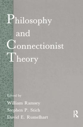 Philosophy and Connectionist Theory (Hardback) book cover