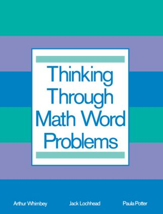 Thinking Through Math Word Problems: Strategies for Intermediate Elementary School Students (Paperback) book cover