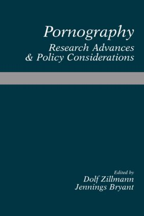Pornography: Research Advances and Policy Considerations (Paperback) book cover