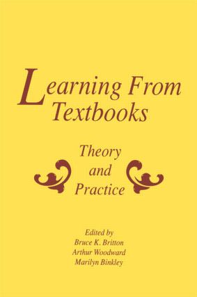 Learning From Textbooks: Theory and Practice, 1st Edition (Hardback) book cover