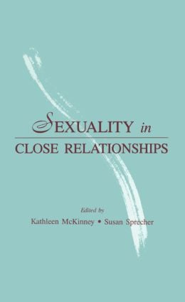 Sexuality in Close Relationships (Hardback) book cover
