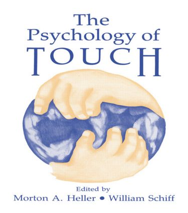 The Psychology of Touch: 1st Edition (Hardback) book cover
