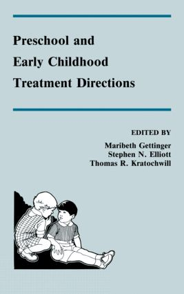 Preschool and Early Childhood Treatment Directions (Hardback) book cover