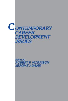 Contemporary Career Development Issues book cover