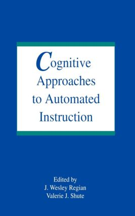Cognitive Approaches To Automated Instruction (Hardback) book cover