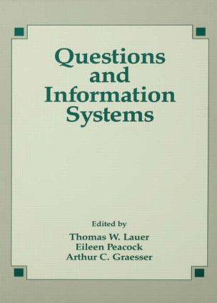 Questions and Information Systems: 1st Edition (Paperback) book cover