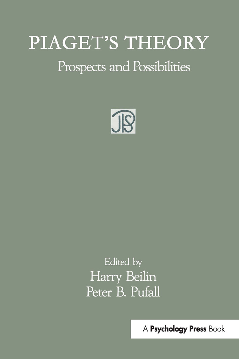 Piaget's Theory: Prospects and Possibilities (Paperback) book cover