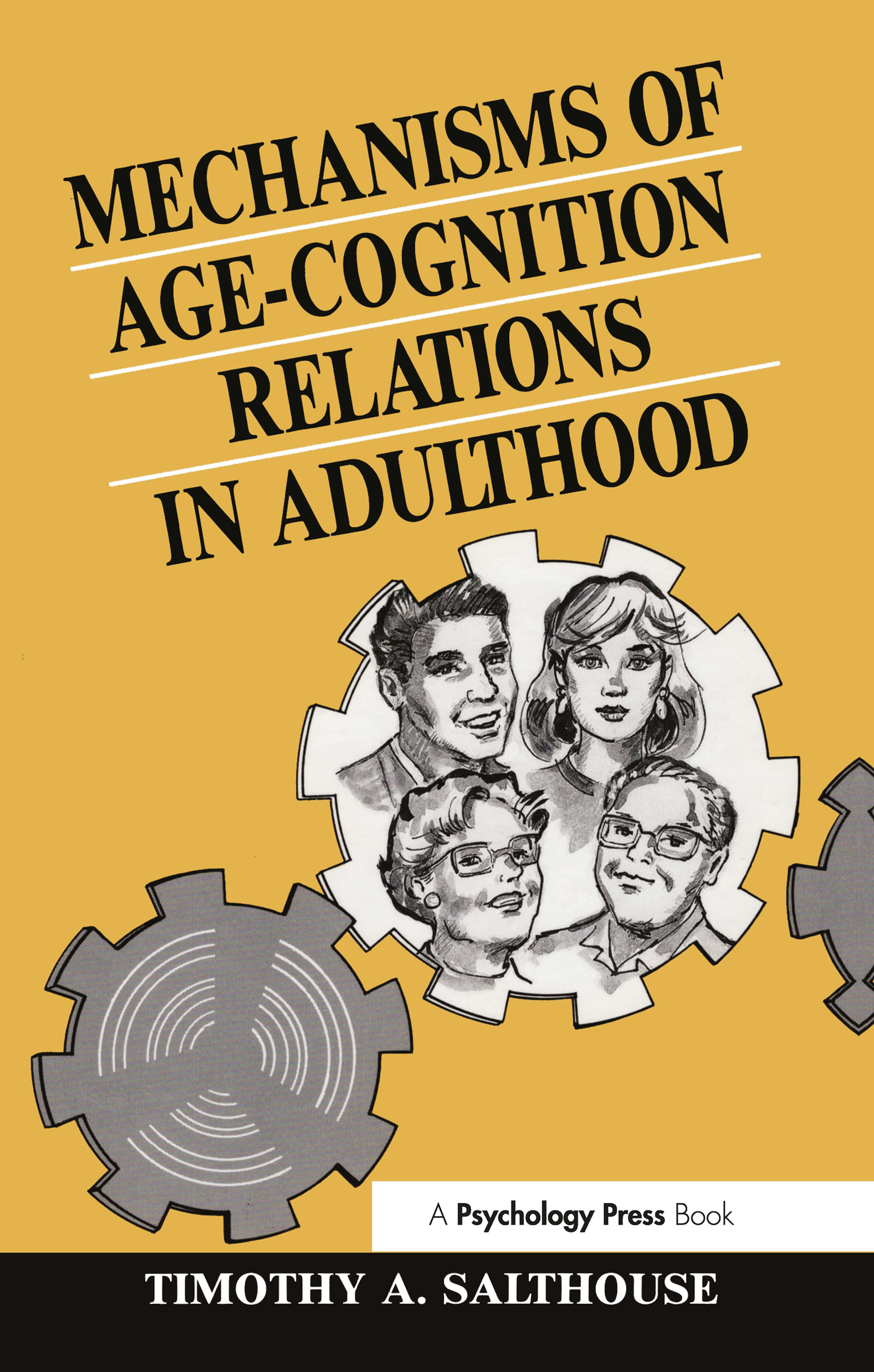 Mechanisms of Age-cognition Relations in Adulthood (Hardback) book cover