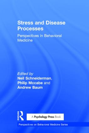 Stress and Disease Processes: Perspectives in Behavioral Medicine (Hardback) book cover