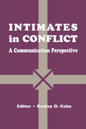 intimates in Conflict: A Communication Perspective, 1st Edition (Paperback) book cover