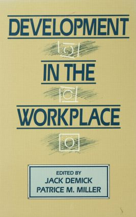 Development in the Workplace (Hardback) book cover