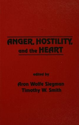 Anger, Hostility, and the Heart (Hardback) book cover
