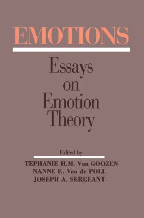 Emotions: Essays on Emotion Theory (Paperback) book cover