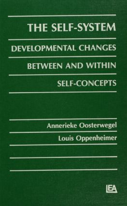 The Self-system: Developmental Changes Between and Within Self-concepts (Hardback) book cover