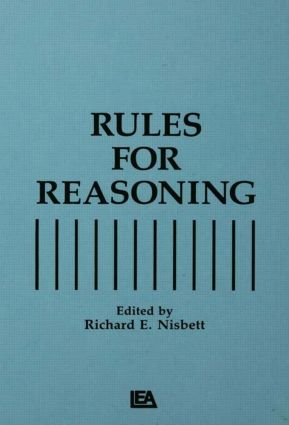 Rules for Reasoning: 1st Edition (Paperback) book cover