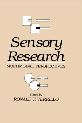 Sensory Research: Multimodal Perspectives (Hardback) book cover