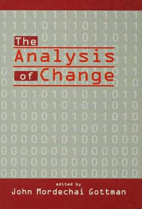 The Analysis of Change: 1st Edition (Paperback) book cover