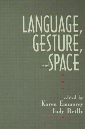 Language, Gesture, and Space (Hardback) book cover