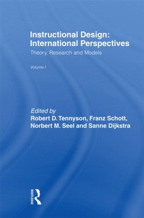 Instructional Design: International Perspectives I: Volume I: Theory, Research, and Models:volume Ii: Solving Instructional Design Problems, 1st Edition (Paperback) book cover