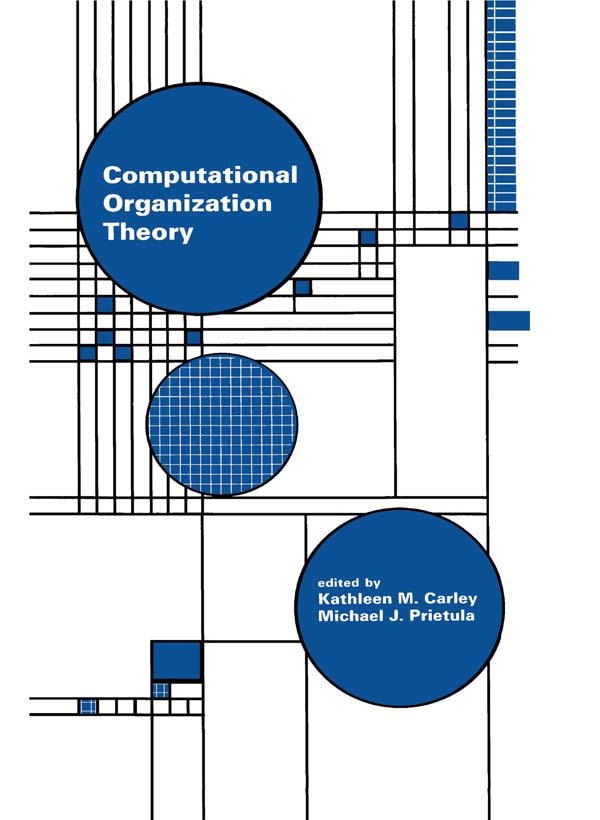 Computational Organization Theory: 1st Edition (Paperback) book cover