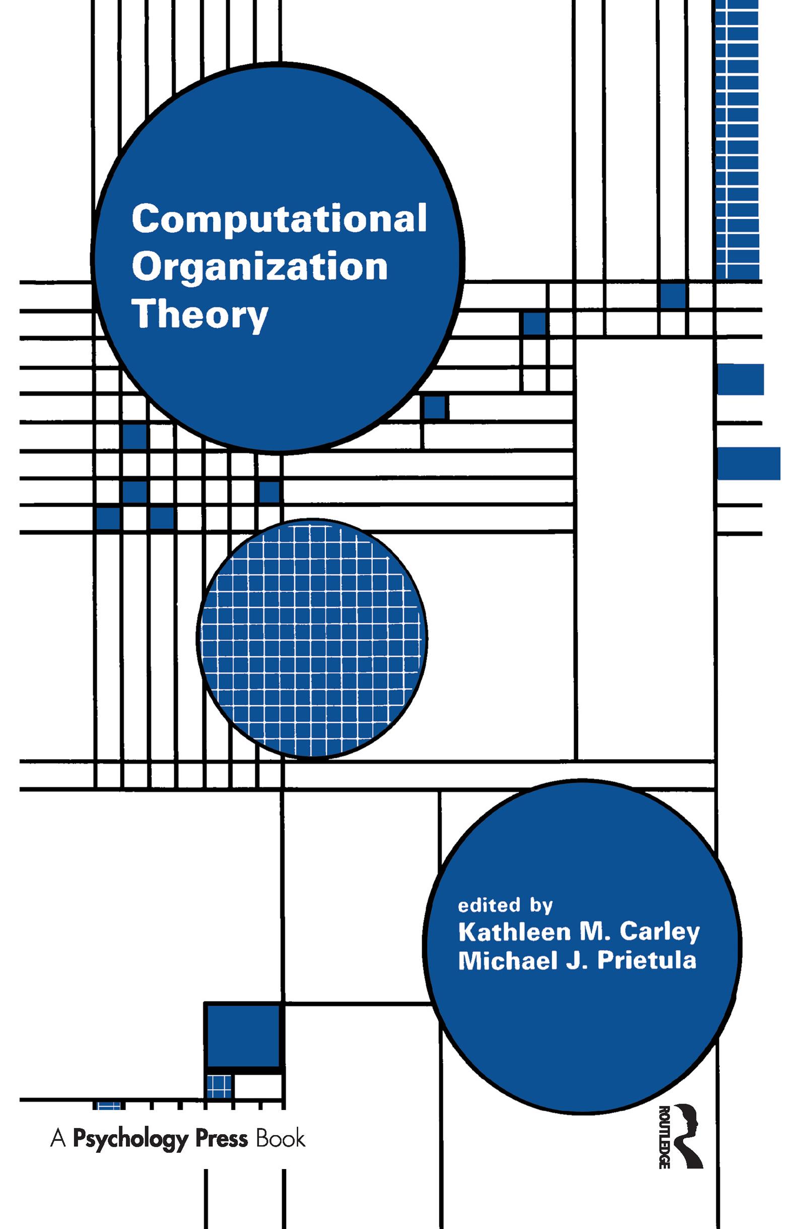 Computational Organization Theory (Hardback) book cover