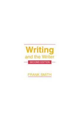 Writing and the Writer: 2nd Edition (Paperback) book cover