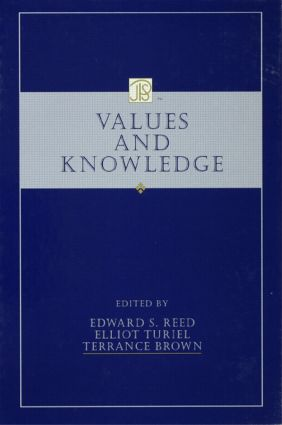 Values and Knowledge (Hardback) book cover