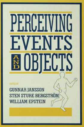 Perceiving Events and Objects (Hardback) book cover