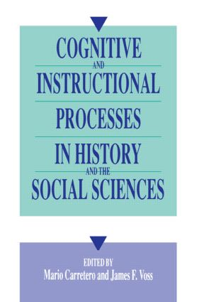 Cognitive and Instructional Processes in History and the Social Sciences: 1st Edition (Paperback) book cover