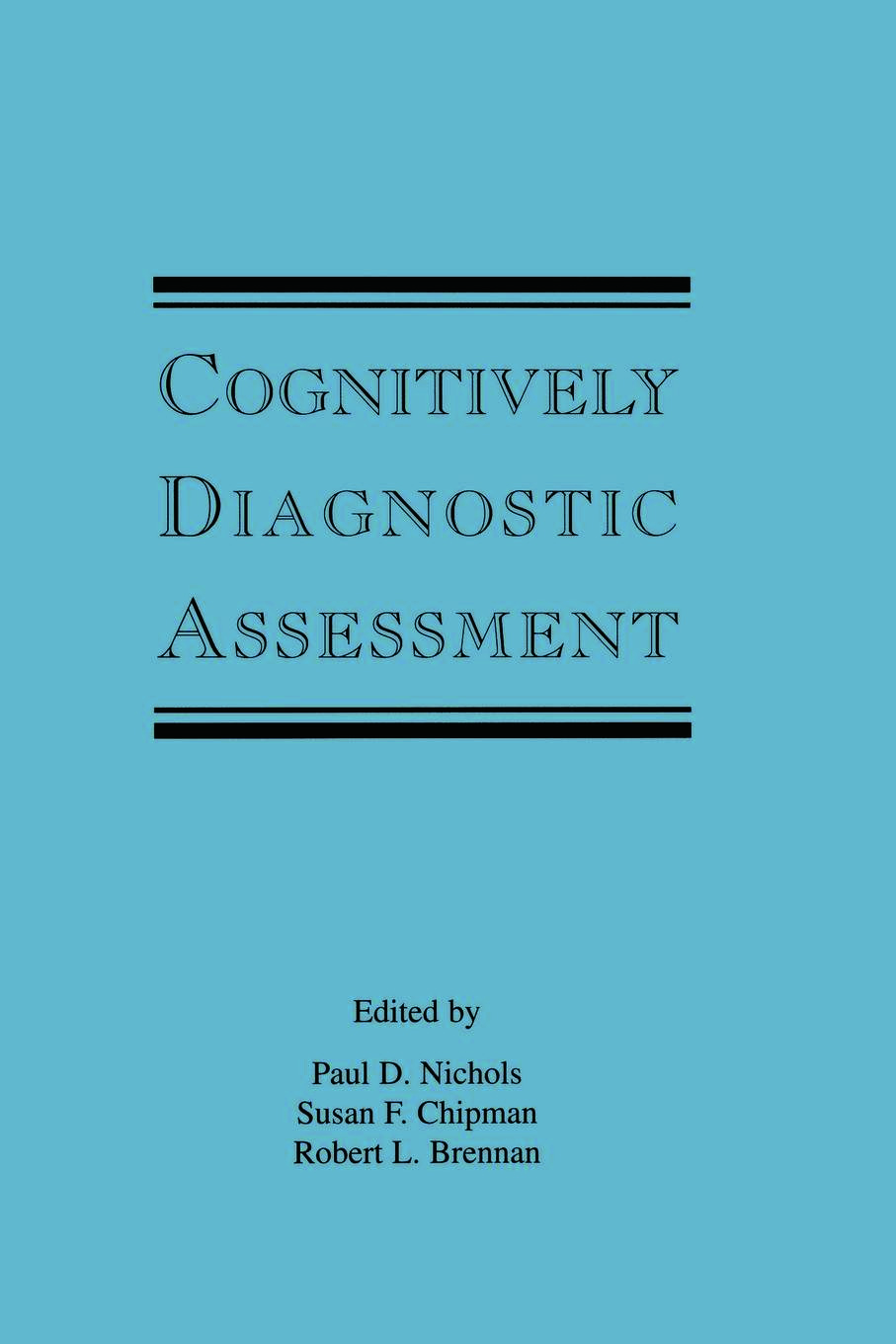 Cognitively Diagnostic Assessment (Paperback) book cover