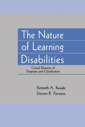 The Nature of Learning Disabilities: Critical Elements of Diagnosis and Classification, 1st Edition (Paperback) book cover
