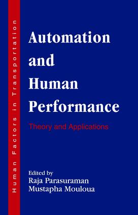 Automation and Human Performance: Theory and Applications book cover