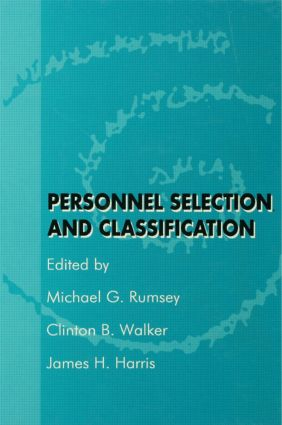 Personnel Selection and Classification (Hardback) book cover