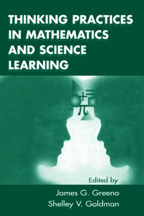 Thinking Practices in Mathematics and Science Learning: 1st Edition (Paperback) book cover