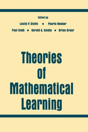 Theories of Mathematical Learning (Paperback) book cover