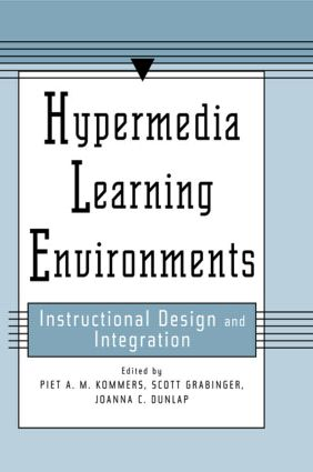 Hypermedia Learning Environments: Instructional Design and Integration, 1st Edition (Paperback) book cover