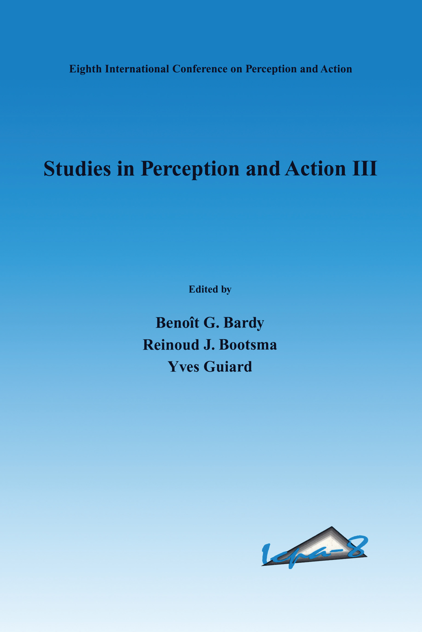 Studies in Perception and Action III: 1st Edition (Hardback) book cover